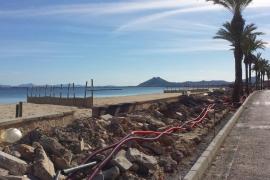 Grünes Licht für Umbau von Pollenças Meerespromenade