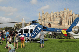 Großes Polizeiaufgebot in Palmas Parc de la Mar