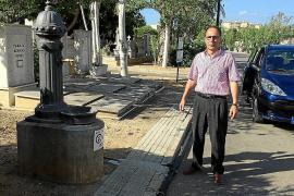 Das marode Wassernetz des Friedhofs wird geflickt