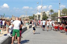 So viele Touristen wie sonst nur im Hochsommer