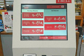 Alcúdia hat jetzt einen Bitcoin-Automaten