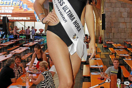 Die 25-jährige Rafaella Cándida aus Navarra wurde zur Miss Ultima Hora gekürt.