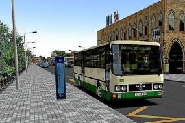 Einmal auf Mallorca Busfahrer spielen