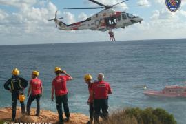 Mann nach Klippensturz mit Hubschrauber gerettet