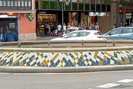 Brunnen an der Plaza de la Reina wird umgestaltet