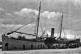 """Der Orangenfrachter """"Villa de Sóller"""" wurde 1918, wenige Monate vor Kriegsende von """"U-35"""" ohne Vorwarnung torpediert und innerha"""