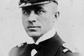 """Lothar von Arnauld de la Perière kommandierte im Mittelmeer das deutsche Unterseeboot """"U-35""""."""