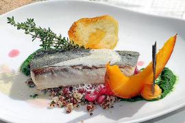 Granatapfel und Fisch ergänzen sich gut