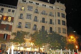Das Haus der Bar Cristal an Palmas Plaza España wird 100