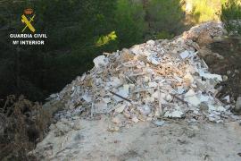 Polizei stellt 15 illegale Bauschutt-Entsorger
