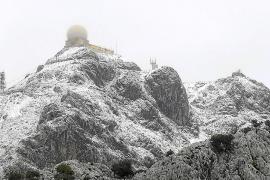 Am Montag erste Schneefälle auf Mallorca möglich