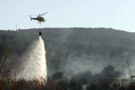 105 Waldbrände haben auf den Balearen gewütet