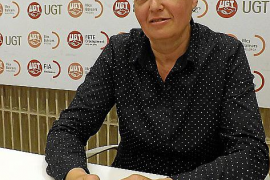 Maria Llanos Gómez ist in der Gewerkschaft UGT zuständig für Reinigungskräfte