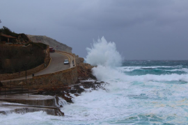 Wetterwarnstufe Orange an Mallorcas Küste