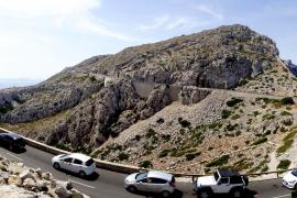 Geröll-Lawine verhindert Zufahrt zum Cap Formentor