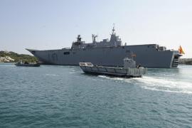 Spaniens Flaggschiff kommt nach Palma