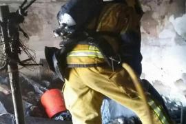 Feuerwehr löscht Dachboden-Brand in Palma