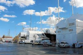 Hafen von Palma als Hauptanlaufpunkt für Schiffsreparaturen