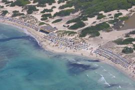 Ses Covetes am Es-Trenc-Strand bleibt ohne Parkpklatz