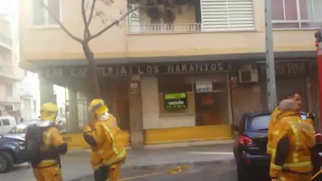 Vier Verletzte bei Brand in Palma