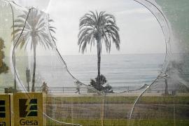 Noch ist das Gesa-Gebäude in der ersten Meereslinie von Palma de Mallorca nicht fertig renoviert.