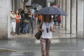 Wetterdienst rechnet mit Starkregen und Hagel