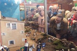 Krippe in der Santa-Catalina-Markthalle eingeweiht