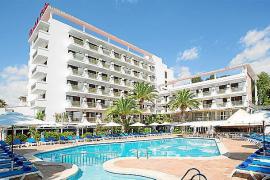 Hotel Cristóbal Colón an der Playa de Palma.
