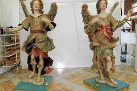 Engel aus Binissalem erstrahlen in neuem Glanz