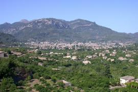 Blick auf das Tal von Sóller.