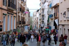 Fußgängerzone Carrer Oms wird 25