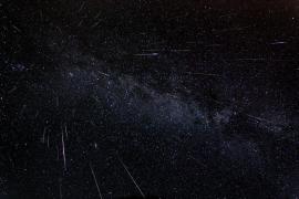 Sternschnuppenregen über Mallorca