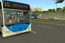 Endlich Busfahrer in Palma spielen