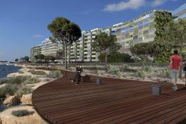 Holzweg am Meer in Santa Ponça geplant