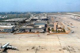 So sah es vor 1997 am Airport aus. Im Bild zu sehen ist der alte Hauptterminal, heute Modul A.