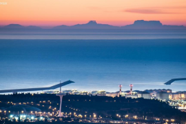 Seltenes Panorama: Mallorca von Barcelona aus sichtbar