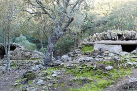 Zisternen der Burg von Alaró werden restauriert