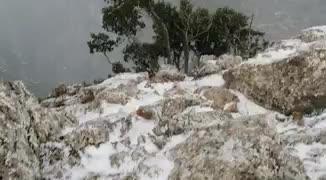 Erster Schnee des Jahres auf Mallorca gefallen