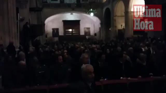 Tausende bei Sant Antoni in Sa Pobla