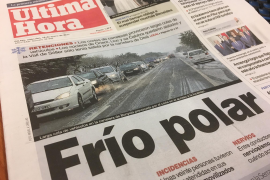 """Mallorca klagt über """"Polarkälte"""""""