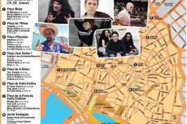 Hier finden die Konzerte zu Sant Sebastià statt
