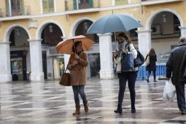 Reichlich Regen auf Mallorca