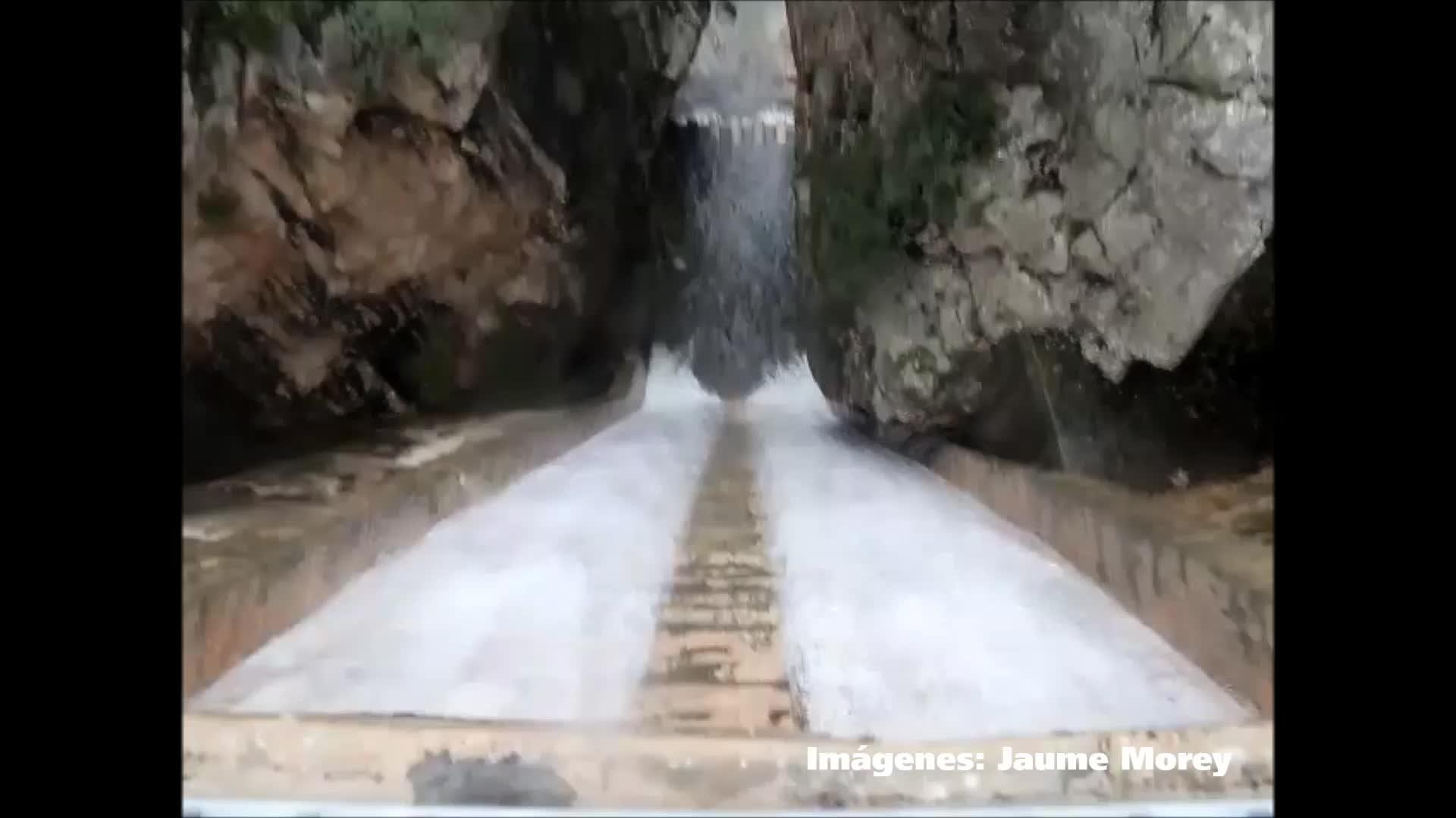 Wassermassen der Stauseen werden zu Gefahr