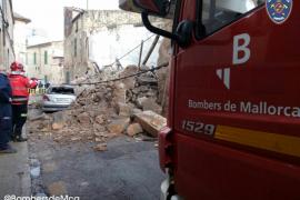 Wohnhaus im Inselinneren von Mallorca eingestürzt
