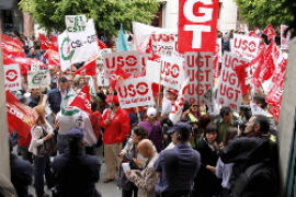 Massiver Protest gegen Sparpaket