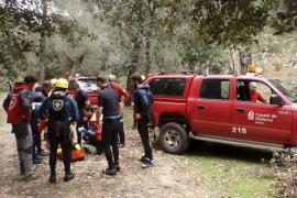 Archivfoto einer Rettungsaktion im Coanegra-Tal auf Mallorca.