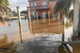 Insel ist teilweise immer noch überschwemmt