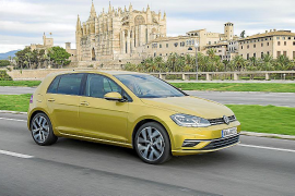 Volkswagen präsentiert neuen Golf vor 500 Fachleuten