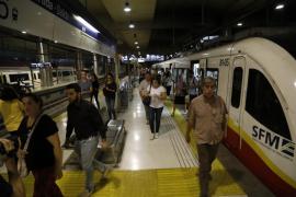 Bahnmitarbeiter streiken auf Mallorca