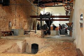 Auch die alte Ölmühle kann besichtigt werden.